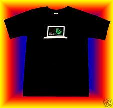 --> LED Leucht Lightshirt Equalizer T Shirt WLAN <--