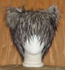 NEW BIG BAD WOLF FUR HAT HUSKY DOG KITTY CAT ANIME COSPLAY BURNER SPIRIT WIG