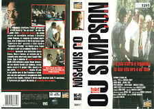 THE OJ SIMPSON STORY (1994) VHS