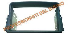 Mascherina adattatore kit radio DOPPIO DIN Nissan PRIMASTAR  2010 Grigio scuro