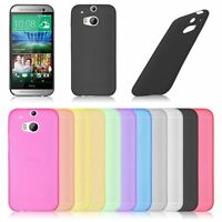 New Ultra Thin Slim 0.3mm Crystal Clear PP Soft Case Cover Skin for HTC One M8