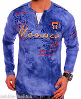 homme Pull col rond Sweat à capuche manches longues chemise T-shirt WOW NEUF