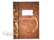 Vampire Diaries Stefan's diary inspired hardcover cosplay book notebook