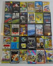 Job Lot 30x Sinclair Spectrum ZX Retro Games Cassettes Good Titles with Cases