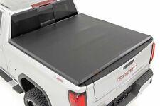 Rough Country Soft Tri-Fold fits 2019-2020 Chevy Silverado GMC Sierra 6.5 FT Bed