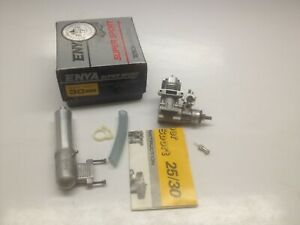 ENYA SS 30 BB  Schneurle Ported Series RC Engine with Muffler