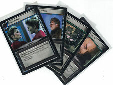 Star Trek ccg Decipher 2nd Energize: 3x rare cards libre elección Lot