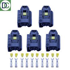 5 x Mercedes CLS Genuine Diesel Injector Connector Plug Bosch Common Rail