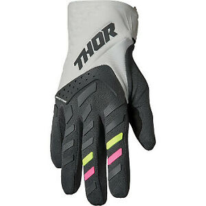 Thor 2022 Women's Spectrum Gloves Gray/Charcoal All Sizes