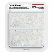 NEW Nintendo 3DS Cover Plates No.039 Super Smash Bros. Import Japan F/S