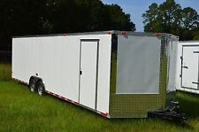 8.5x28 Enclosed Trailer Cargo 5200 V Nose 30 Car Hauler 8 Motorcycle 2019