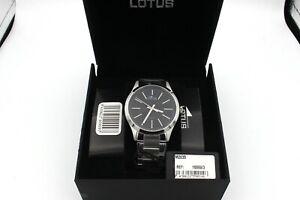 Lotus M2035 Uhr Herren Armbanduhr 15959/3 Edelstahl 42 mm (s)