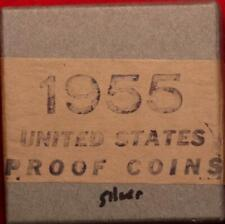 Uncirculated 1955 United States Silver Proof Coins