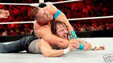 Dean Ambrose vs John Cena WWE Raw in San Jose Photo #10