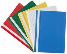 Idena Schnellhefter Plastikhefter 10 Stück -  5 Farben sortiert