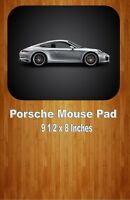 Silver Porsche 911 Carrera S Sports Car Mouse Pad Home Or Office