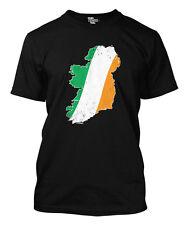 Ireland Irish Flag Map Men's T-shirt