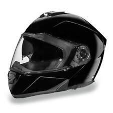 Daytona Helmets Glide DOT Gloss Black Modular Flip-Up Motorcycle Helmet