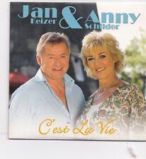 Jan Keizer&Anny Schilder-Cest La Vie cd single