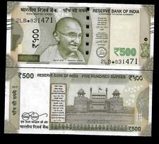 "Rs.500/- Urjit Patel  Star Note ""E"" Inset  Prefix 2LB  2017 - UNC  LATEST"