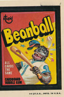 1973 Topps Wacky Packages Beanball Non-Sports Card