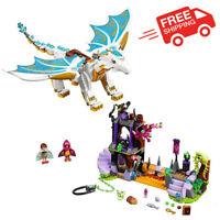 Elves Queen Dragon Rescue 833Pcs Construction Kids Toys Gift DIY Building Blocks