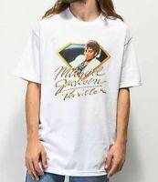 Diamond Supply Co x Michael Jackson Thriller Short Sleeve White T-Shirt MJ NWT