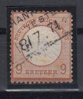 X2214/ GERMANY REICH – MI # 27 USED– CV 605 $