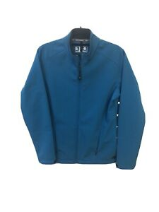 New Balance Fleece Athletic Womens Blue Jacket Immaculate Condition Size Large L