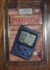 1998 Nintendo Mini Classics Mario's Cement Factory NEW Game & Watch