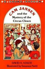 Cam Jansen and the Mystery of the Circus Clown-ExLibrary