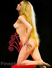 1968 Original 16x20 ASIAN FEMALE NUDE Woman Japan Photo Art By SUSUMU MATSUSHIMA
