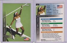 RARE 2003 NETPRO INTERNATIONAL VENUS WILLIAMS TENNIS ROOKIE CARD /500 MULTIPLES