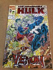 The Incredible Hulk Vs Venom #1. Foil & Embossed Mail order from UNICEF - NM