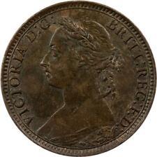 GREAT BRITAIN - FARTHING - 1892 - BRONZE - QUEEN VICTORIA