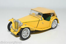 KIT HANDBUILD MMI MG TD M.G. TD YELLOW EXCELLENT CONDITION RARE SELTEN