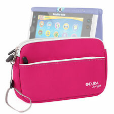 Pink Neoprene Cover/Case/Sleeve For Use W/ Vtech InnoTab Max W/ Storage Pocket