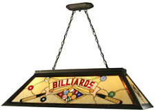 Billiard Pool Table Hanging Light Fixture Lighting 4 Light Antique Bronze Metal