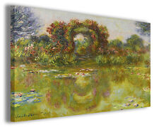 Quadro moderno Claude Monet vol XXII stampa su tela canvas pittori famosi