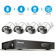 5Mp 8Ch Nvr Poe Surveillance Security Camera System Ip Camera Outdoor Cctv Us