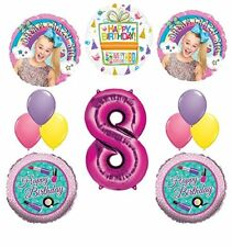 JoJo Siwa Party Supplies Dream Crazy Big 8th Birthday Balloon Bouquet Decoration