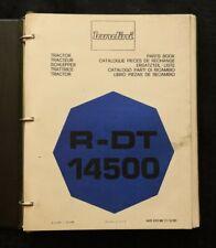 Genuine Landini R-DT 1450 TRACTOR PARTS CATALOG MANUAL W/BINDER VERY GOOD SHAPE