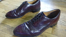 Johnston and Murphy - Made in USA - 12 D/B Burgundy