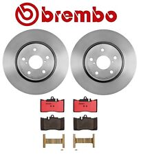 Front Disc Brake Pads Brembo Ceramic Slotted for Lexus LS430 Base 4.3L V8 01-06