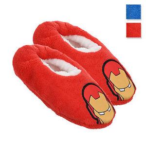 Pantofole invernali chiuse Marvel Avengers ciabatte peluche bambino 3415
