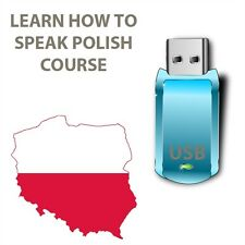 Learn How to Speak POLISH Language USB while in car any mp3
