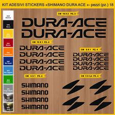 Adesivi stickers compatibili SHIMANO DURA-ACE BICI -Scegli Colore- Cod.0942