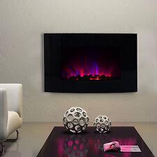 Chimenea Eléctrica Estufa con Efecto Llamas LED de 7 Colores Mando 1000W/2000W