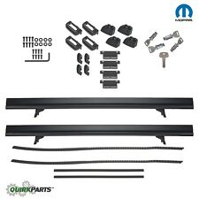 2017 JEEP COMPASS NEW BODY STYLE LOCKABLE ROOF RACK CROSS RAILS KIT MOPAR OEM