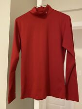 Red Nike Long Sleeve Dry Fit Size M